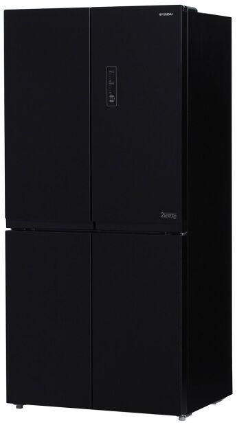 Холодильник Hyundai CM5005F черное стекло