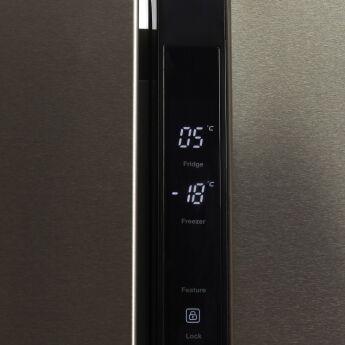 Холодильник Hyundai CS4505F нержавеющая сталь