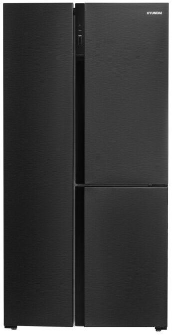 Холодильник Hyundai CS5073FV черная сталь