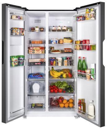Холодильник MAUNFELD MFF177NFB