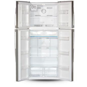 Холодильник Ginzzu NFK-590 Steel