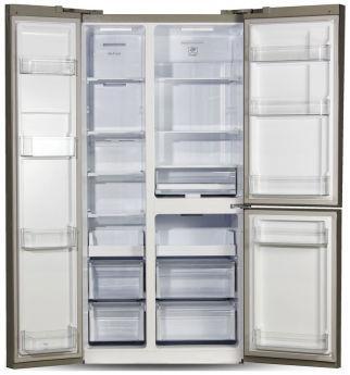 Холодильник Ginzzu NFK-610 steel
