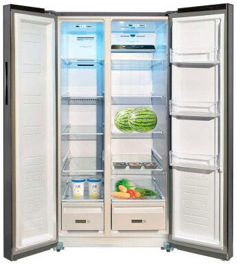 Холодильник Ginzzu NFK-615 Silver