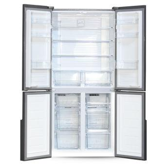 Холодильник Ginzzu NFK-510 Gold glass