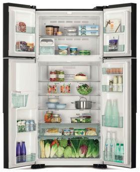 Холодильник Hitachi R-W662PU7GBK