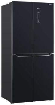 Холодильник TESLER RCD-480I BLACK GLASS