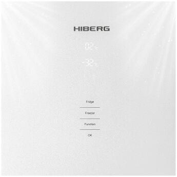 Холодильник HIBERG RFC-400DX NFGW