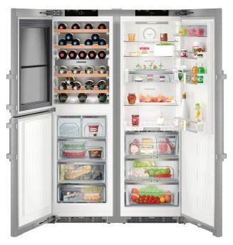 Холодильник LIEBHERR SBSbs 8486 PremiumPlus BioFresh NoFrost