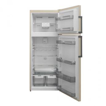 Холодильник Scandilux TMN 478 EZ B Beige Marble